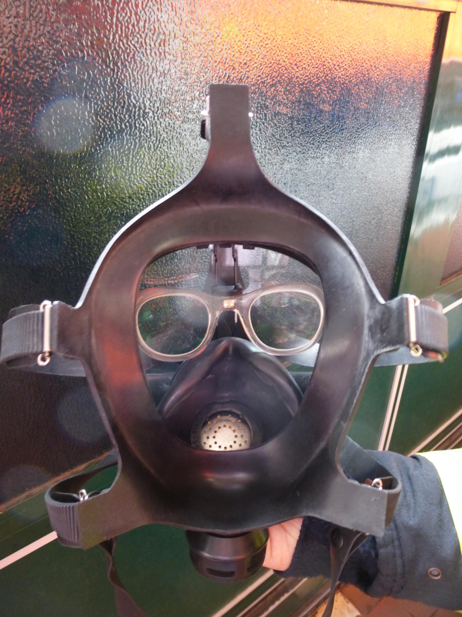Atemschutzmaske Brille Beschlägt